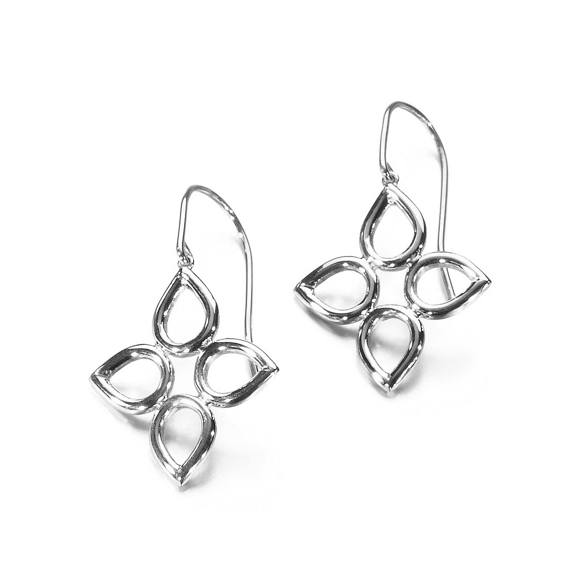 Sevilla wire earrings in sterling silver