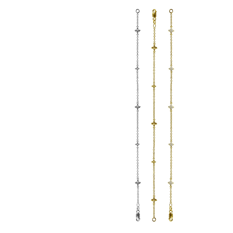 FINE SEVILLA BRACELETS IN SILVER, GOLD, & GOLD & DIAMOND