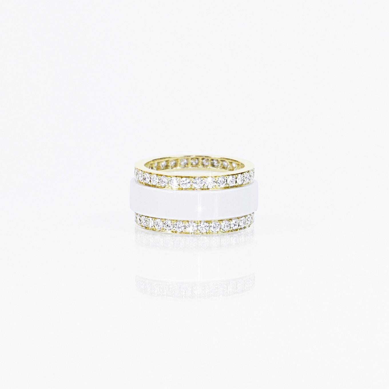 HARDSTONE & DIAMOND STACKING RINGS. HARDSTONE. DIAMOND