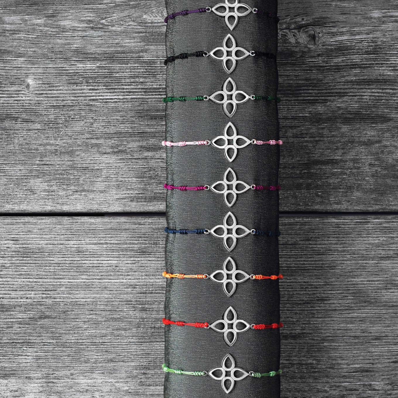 Sterling Silver Sevilla chord bracelets
