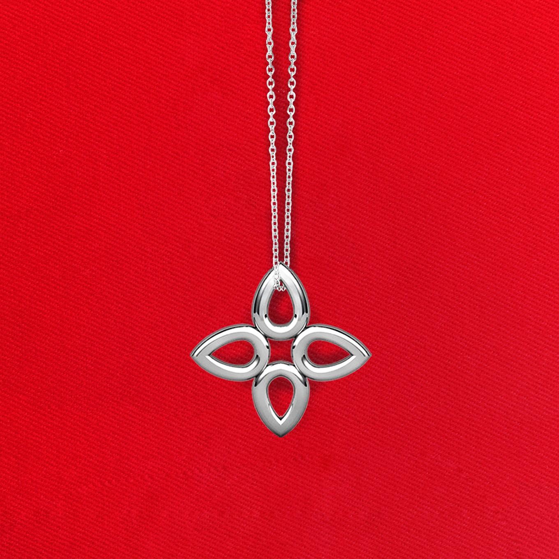 Classic sevilla pendant in sterling silver