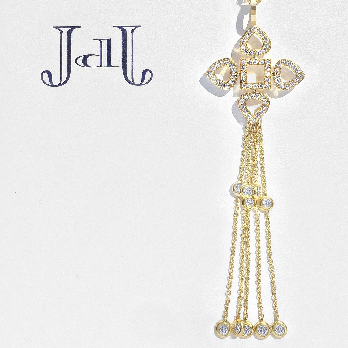Sevilla Diamonds. Necklace - Pendant – Tassel