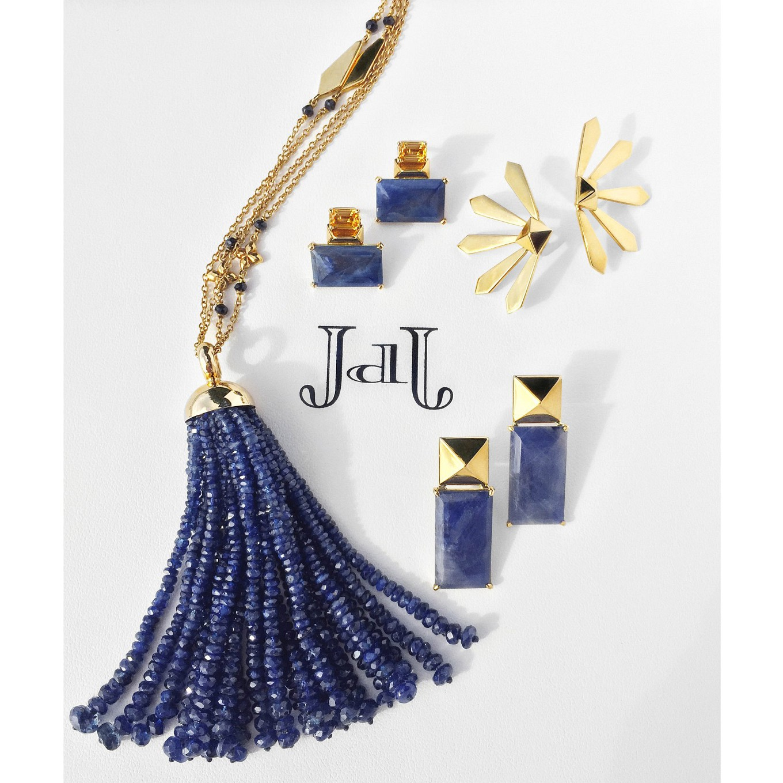 G Series. Gold Yellow & Blue Sapphire
